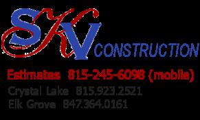 SKV Construction Logo