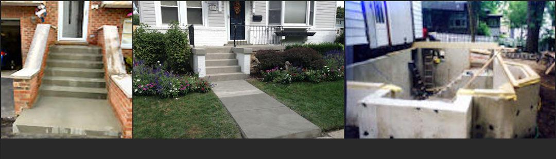 Banner Image Concrete Steps, Sidewalk, & New Foundation Addition